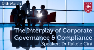 The Interplay of Corporate Governance & Compliance