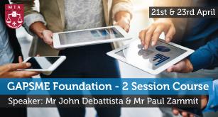 GAPSME Foundation – 2 Session Course
