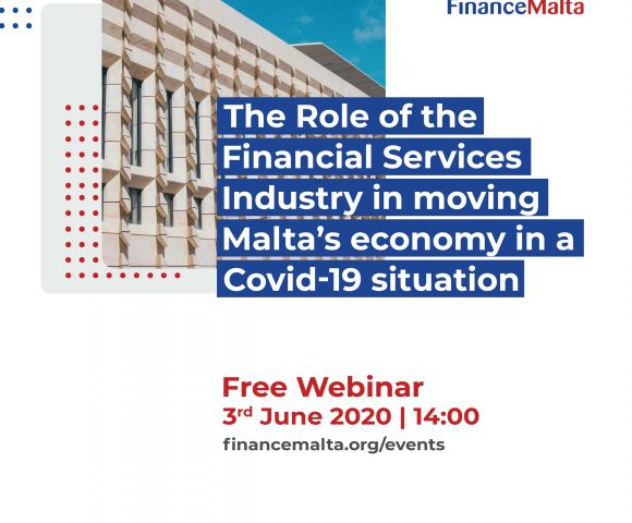 FinanceMalta webinar on the role of Financial Services in moving the Maltese economy