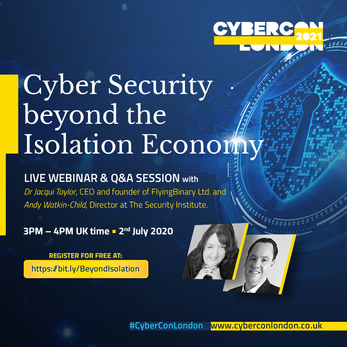 Cyber Security beyond the Isolation Economy