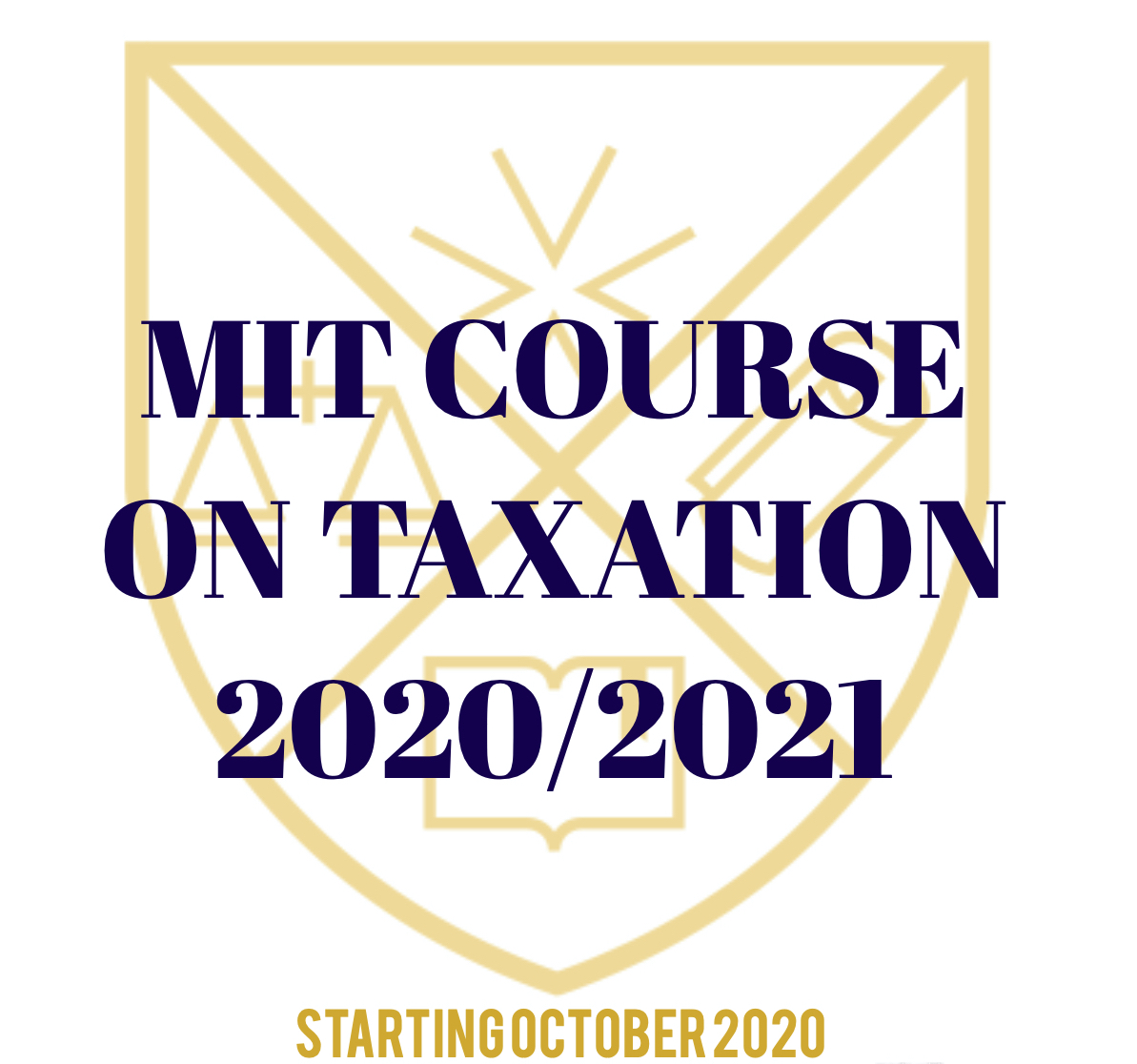MIT Course on Taxation 2020/2021