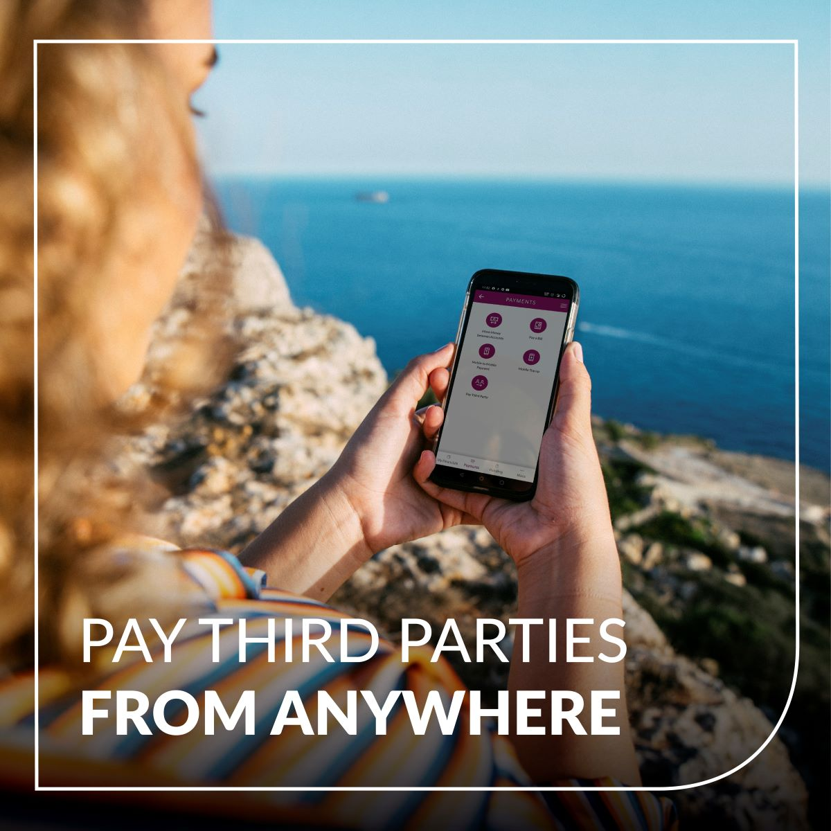 Third party payments now available on BOV Mobile
