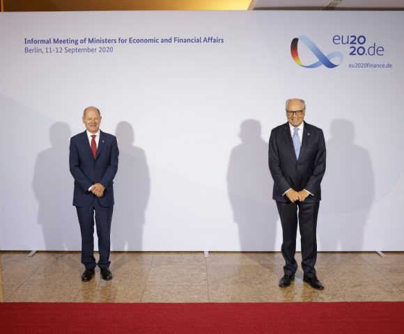 Minister Scicluna participates in the Eurogroup and ECOFIN meetings in Berlin