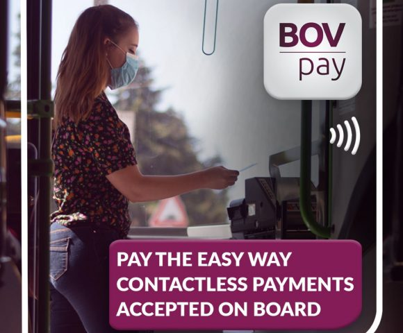 More public transport buses with contactless payment points