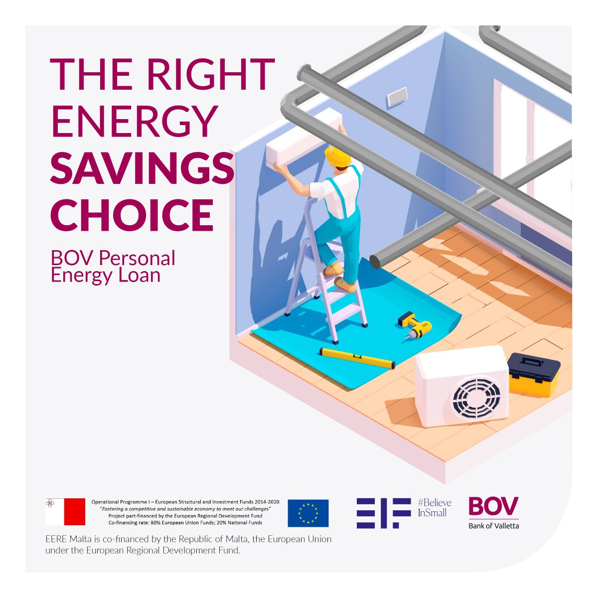 Invest in green energy with the new BOV Personal Energy Loan