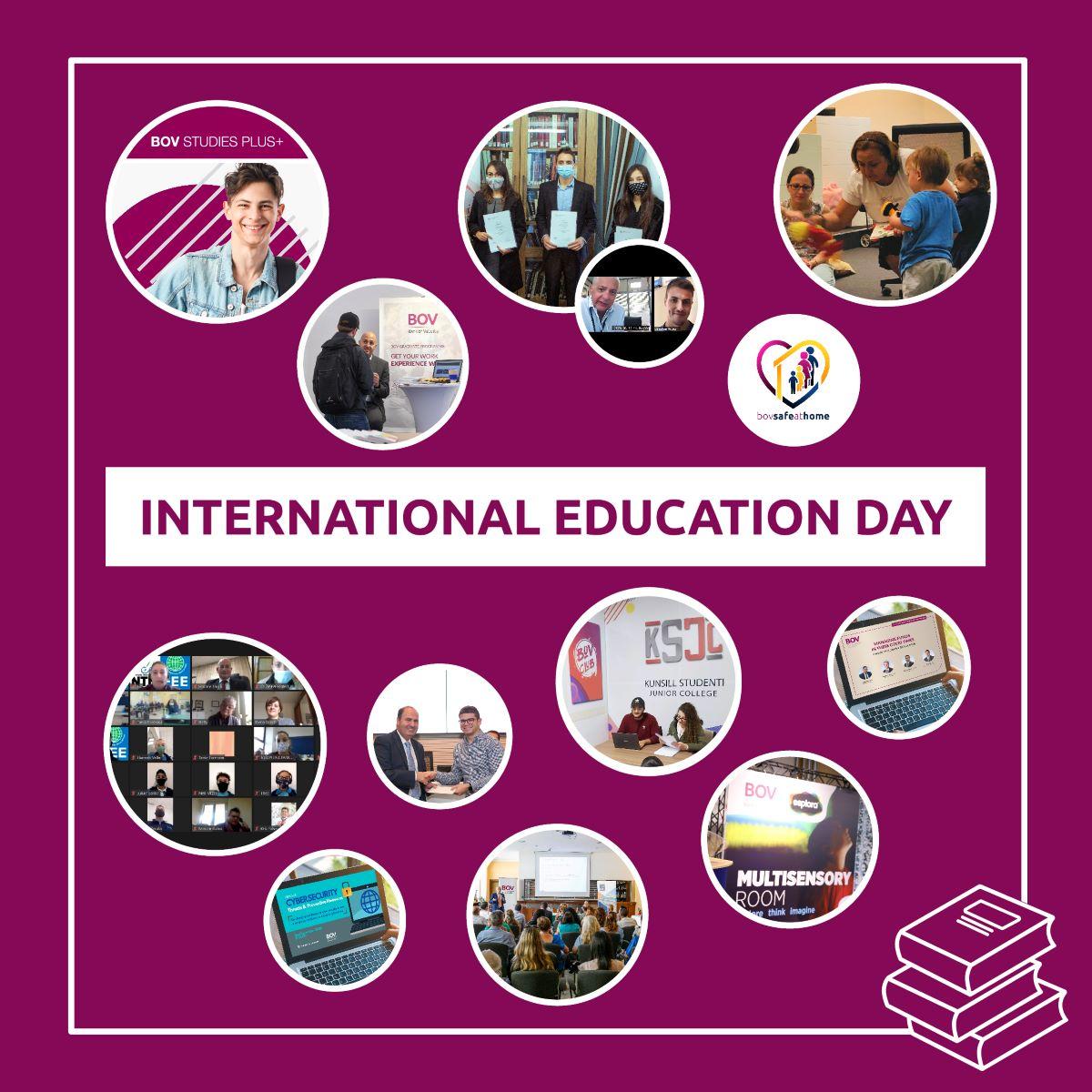 Bank of Valletta marks International Education Day