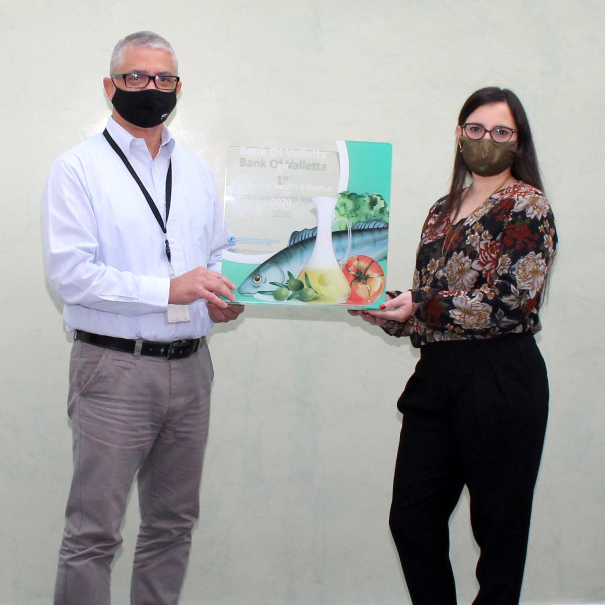 Bank of Valletta awarded Best Workplace Health Initiative