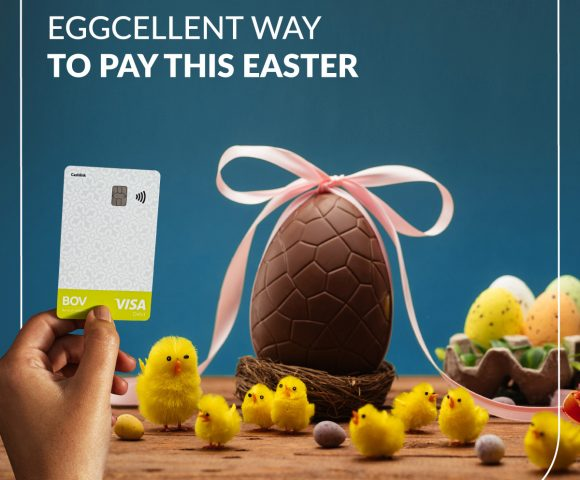 A BOV Eggcellent way to pay this Easter