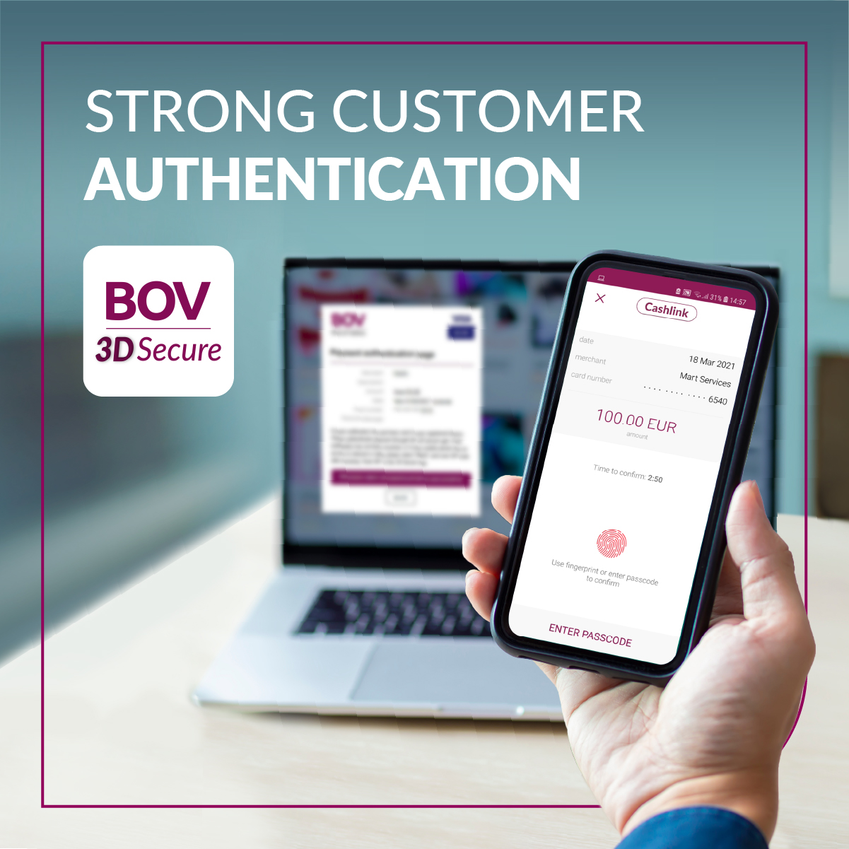 Stronger security for online shopping with Bank of Valletta