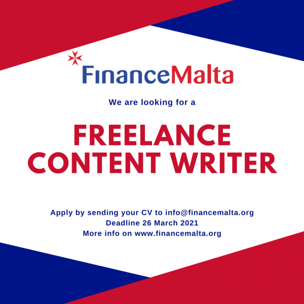 Job offer – Freelance Content Writer