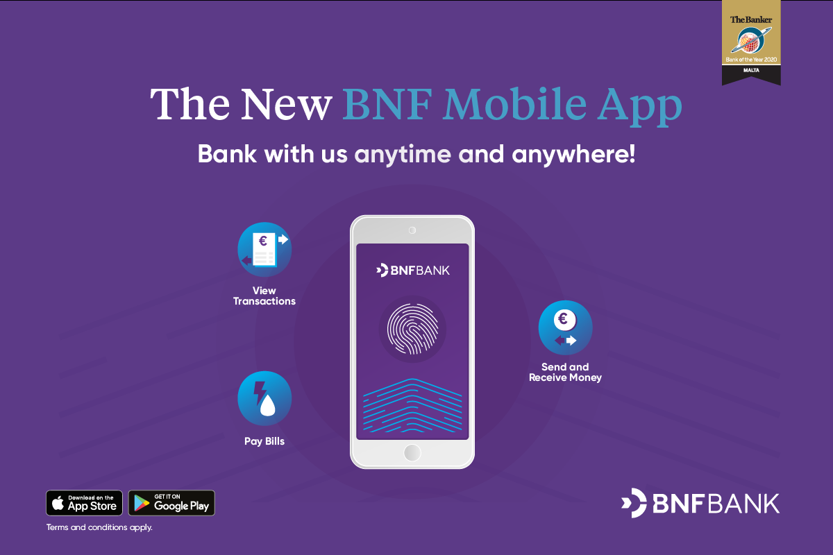 BNF Bank launches new mobile banking app