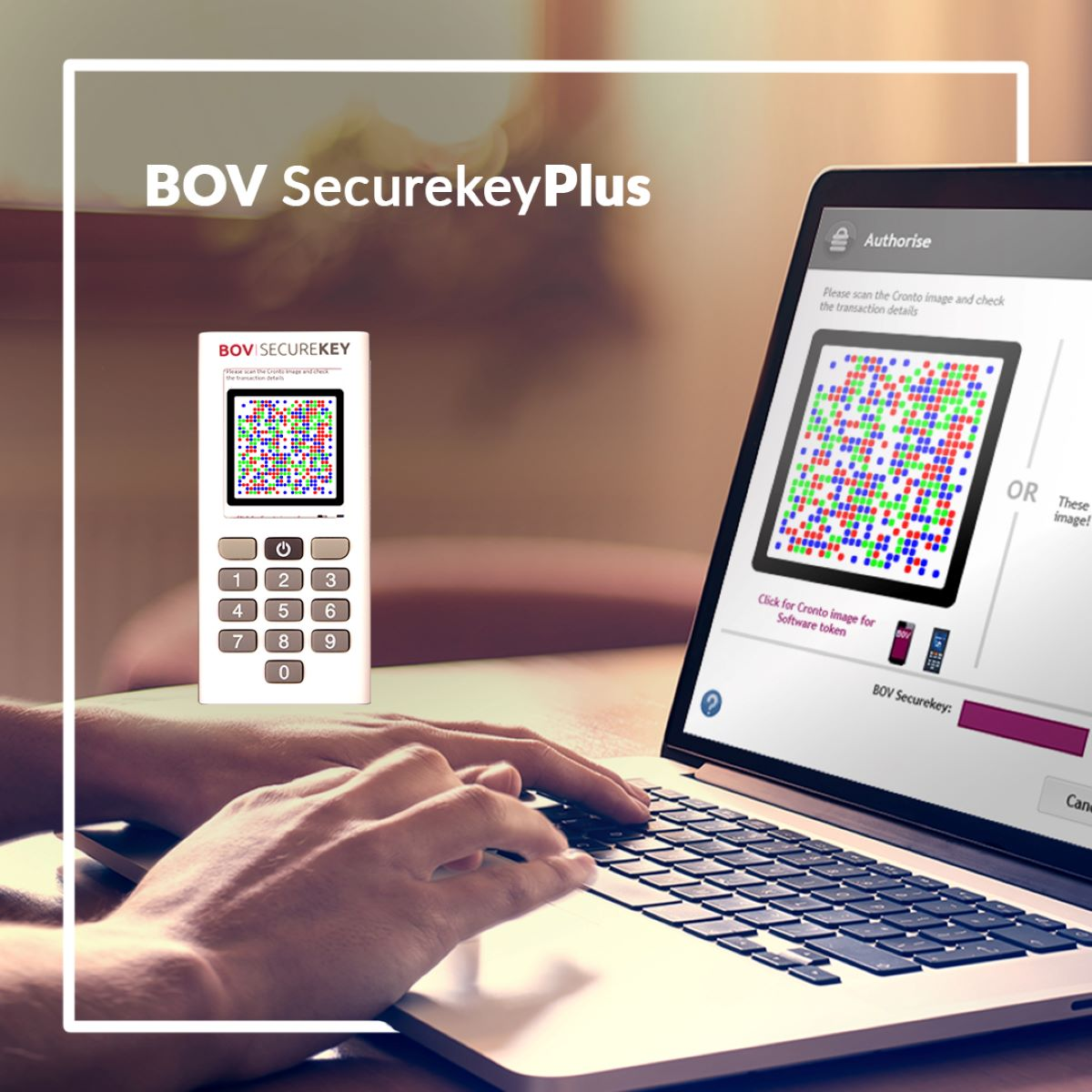 New BOV Securekey for Businesses