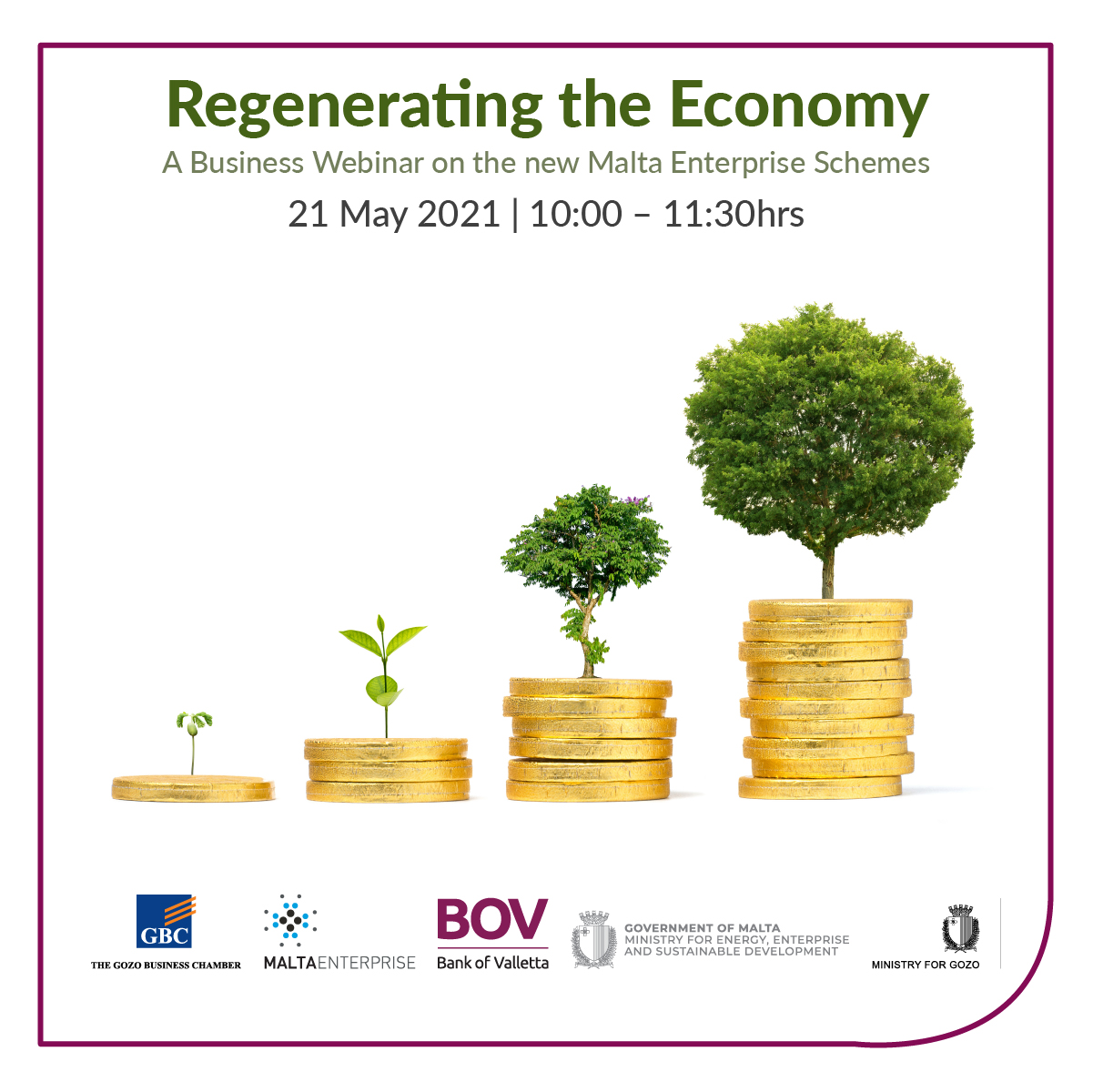 Regenerating the economy – a business webinar on the new Malta Enterprise Schemes