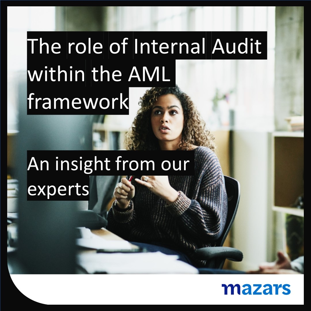 The role of Internal Audit within the AML Framework
