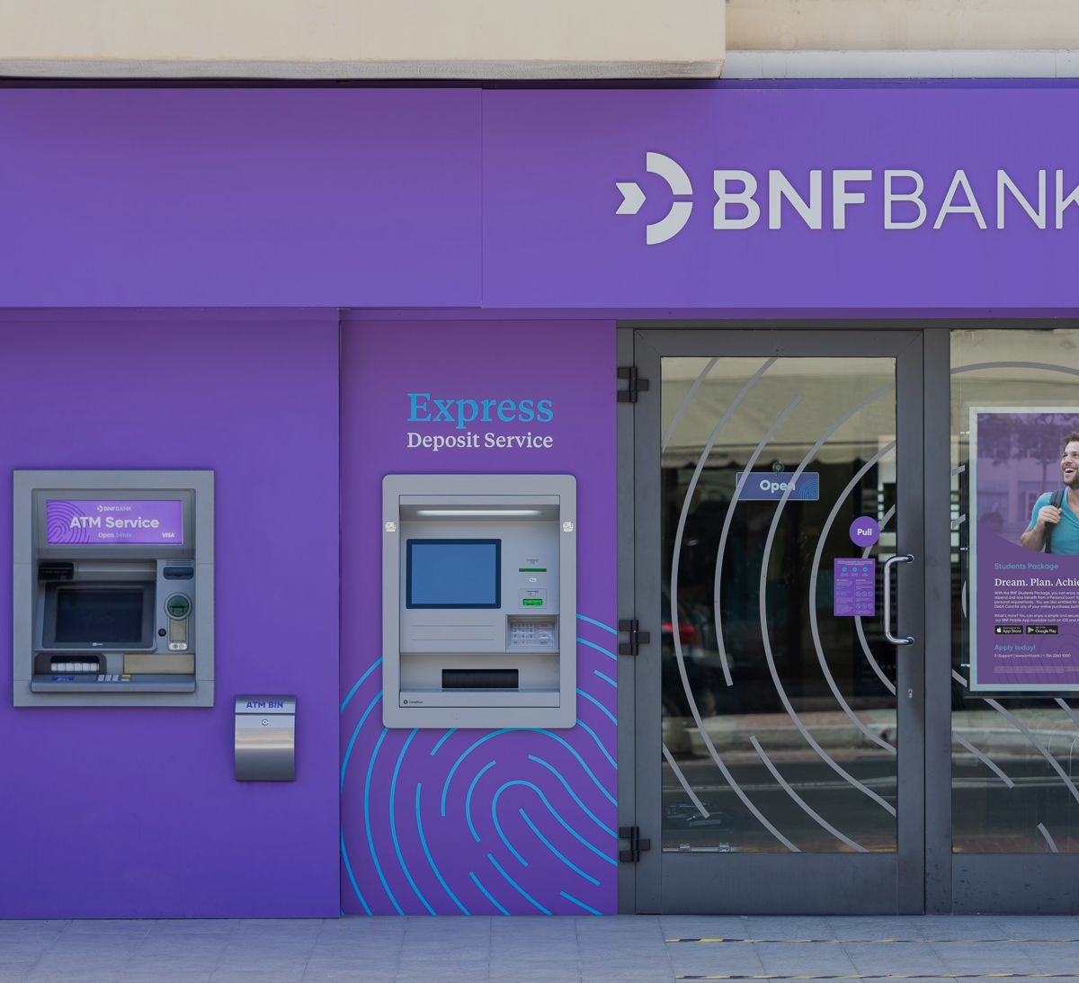 BNF Bank is expanding the network of Express Deposit Machines