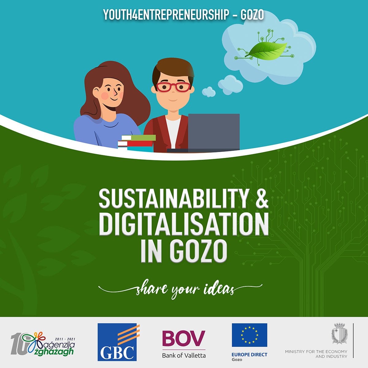 Gozitan Youth Entrepreneurship receives BOV Support